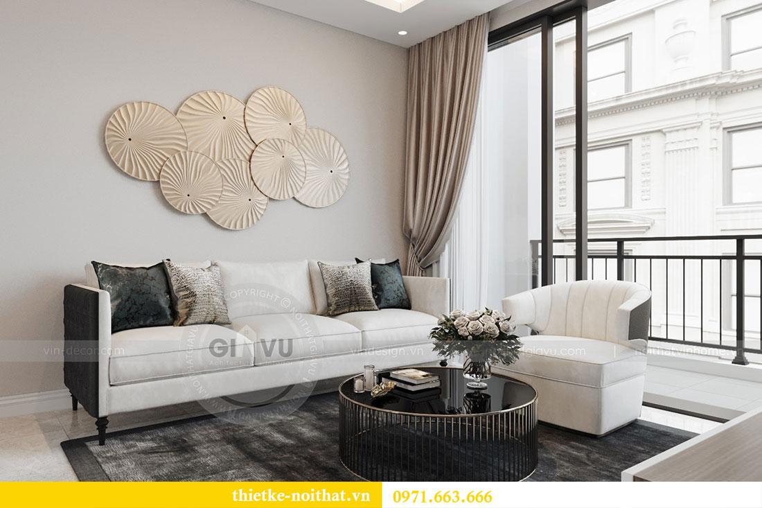 Ý tưởng thiết kế nội thất hiện đại cho căn hộ 3 phòng ngủ - anh Đoan 3