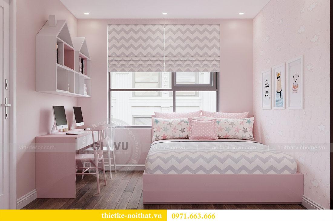 Ý tưởng thiết kế nội thất hiện đại cho căn hộ 3 phòng ngủ - anh Đoan 6