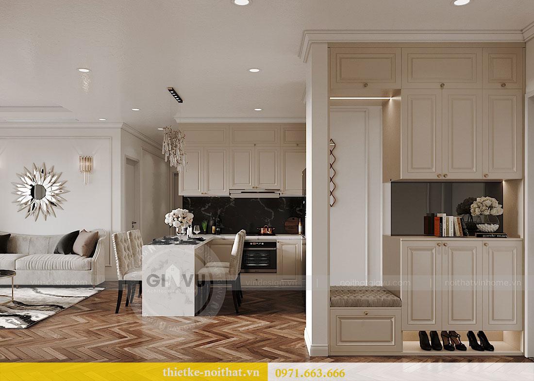 Thiết kế nội thất căn hộ 08 tòa C7 tại Vinhomes Dcapitale - anh Lượng 1