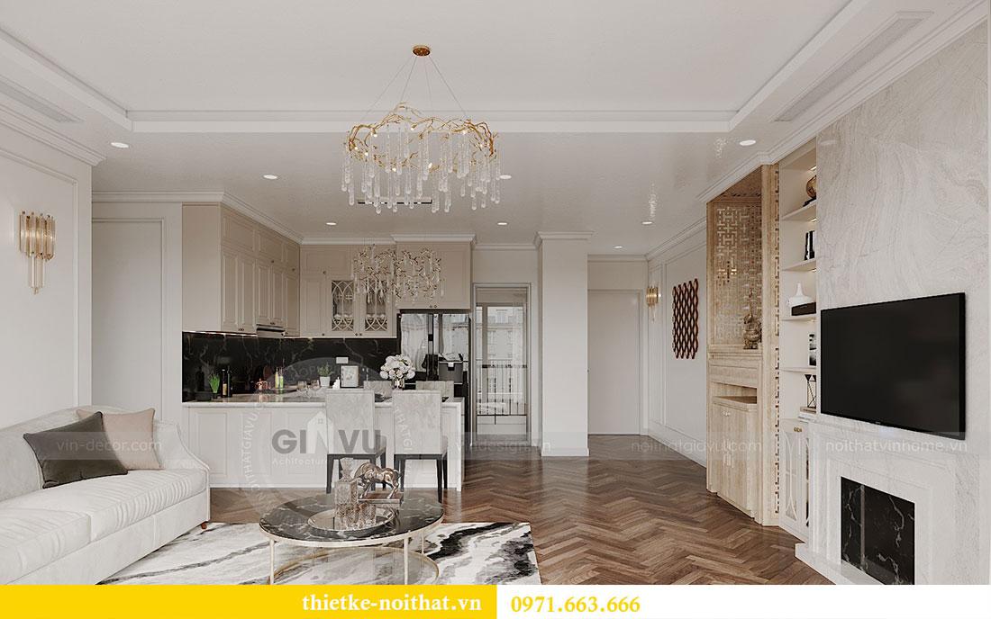 Thiết kế nội thất căn hộ 08 tòa C7 tại Vinhomes Dcapitale - anh Lượng 2