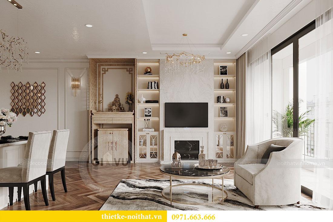Thiết kế nội thất căn hộ 08 tòa C7 tại Vinhomes Dcapitale - anh Lượng 3