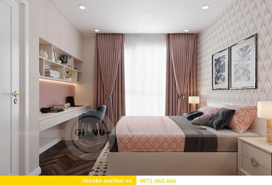 Thiết kế nội thất căn hộ 08 tòa C7 tại Vinhomes Dcapitale - anh Lượng 5