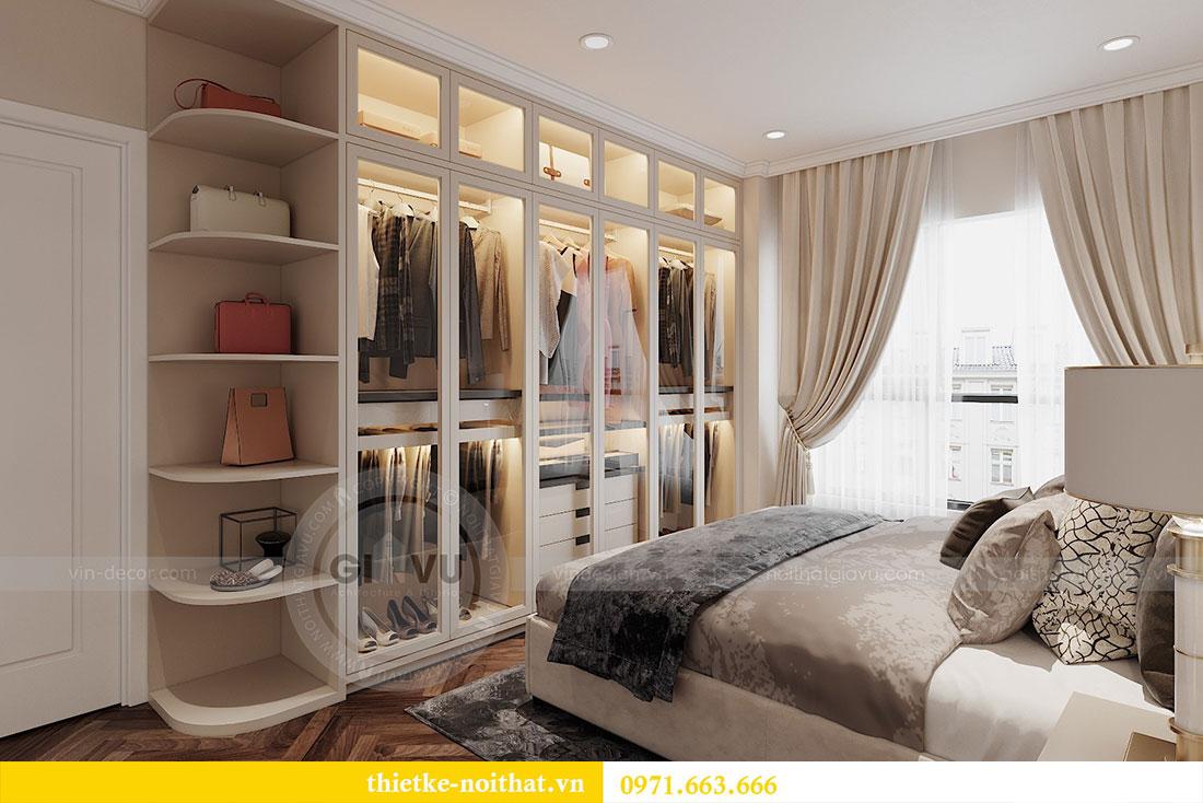 Thiết kế nội thất căn hộ 08 tòa C7 tại Vinhomes Dcapitale - anh Lượng 9