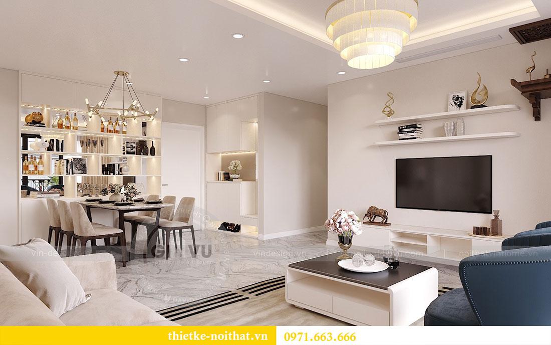 Thiết kế nội thất căn hộ 10 tòa C3 chung cư Dcapitale - anh Kiên 1