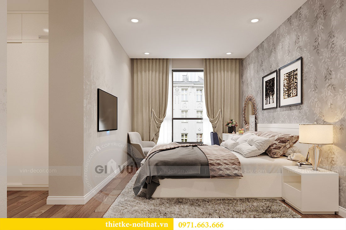 Thiết kế nội thất căn hộ 10 tòa C3 chung cư Dcapitale - anh Kiên 13