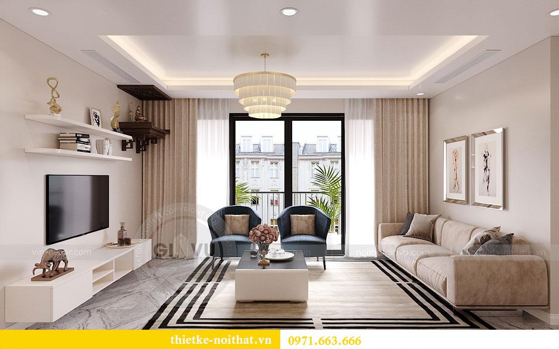 Thiết kế nội thất căn hộ 10 tòa C3 chung cư Dcapitale - anh Kiên 3
