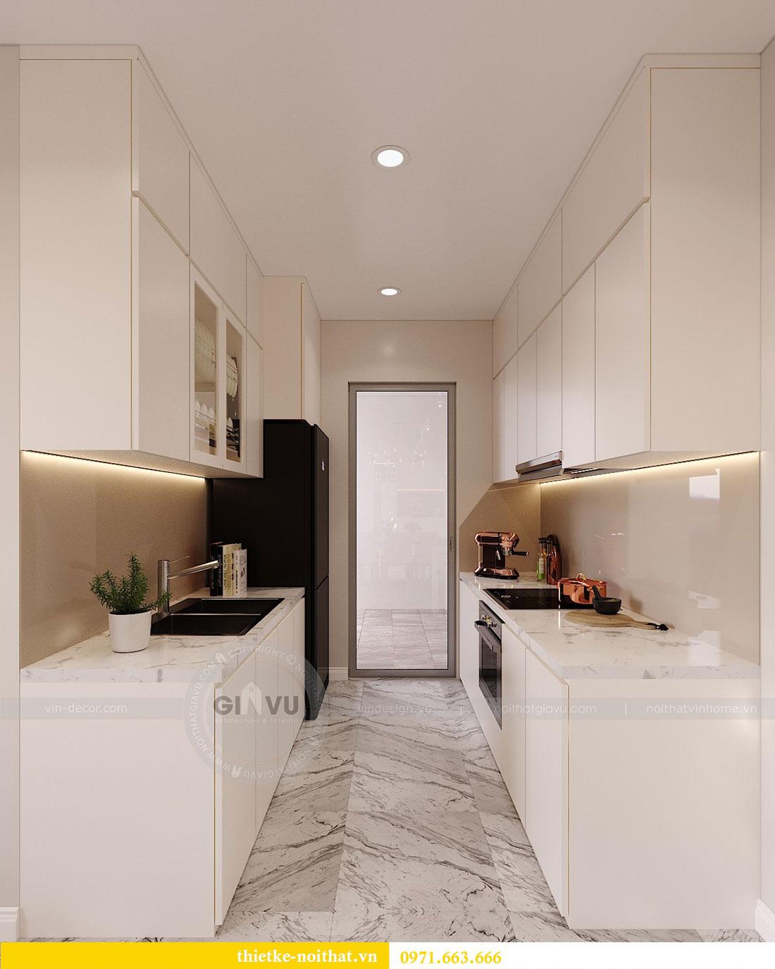 Thiết kế nội thất căn hộ 10 tòa C3 chung cư Dcapitale - anh Kiên 5