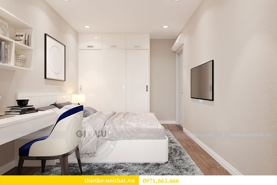 Thiết kế nội thất căn hộ 10 tòa C3 chung cư Dcapitale - anh Kiên 8