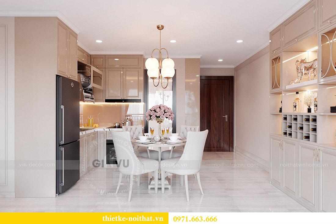 Thiết kế nội thất cao cấp Vinhomes Dcapitale tòa C6 căn 02 - chú Hải 2