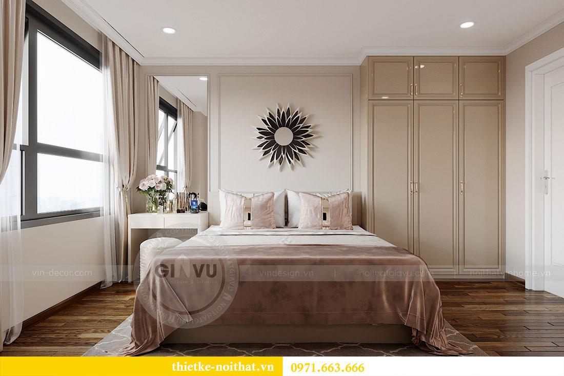 Thiết kế nội thất cao cấp Vinhomes Dcapitale tòa C6 căn 02 - chú Hải 5