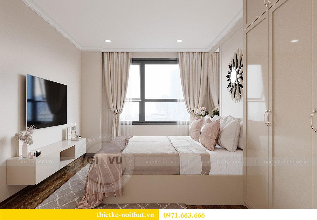 Thiết kế nội thất cao cấp Vinhomes Dcapitale tòa C6 căn 02 - chú Hải 6