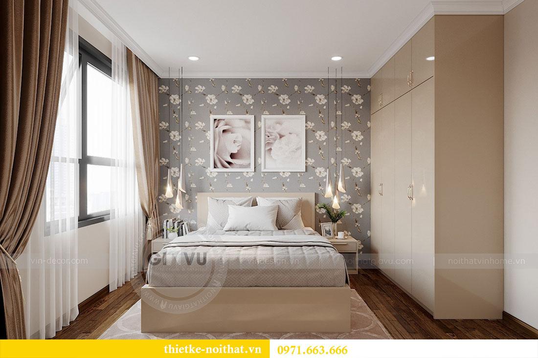 Thiết kế nội thất cao cấp Vinhomes Dcapitale tòa C6 căn 02 - chú Hải 7