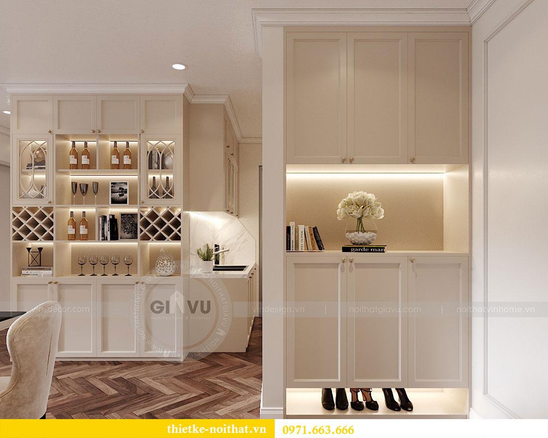 Thiết kế nội thất chung cư D capitale tòa C7 căn 12 chị Hương 1