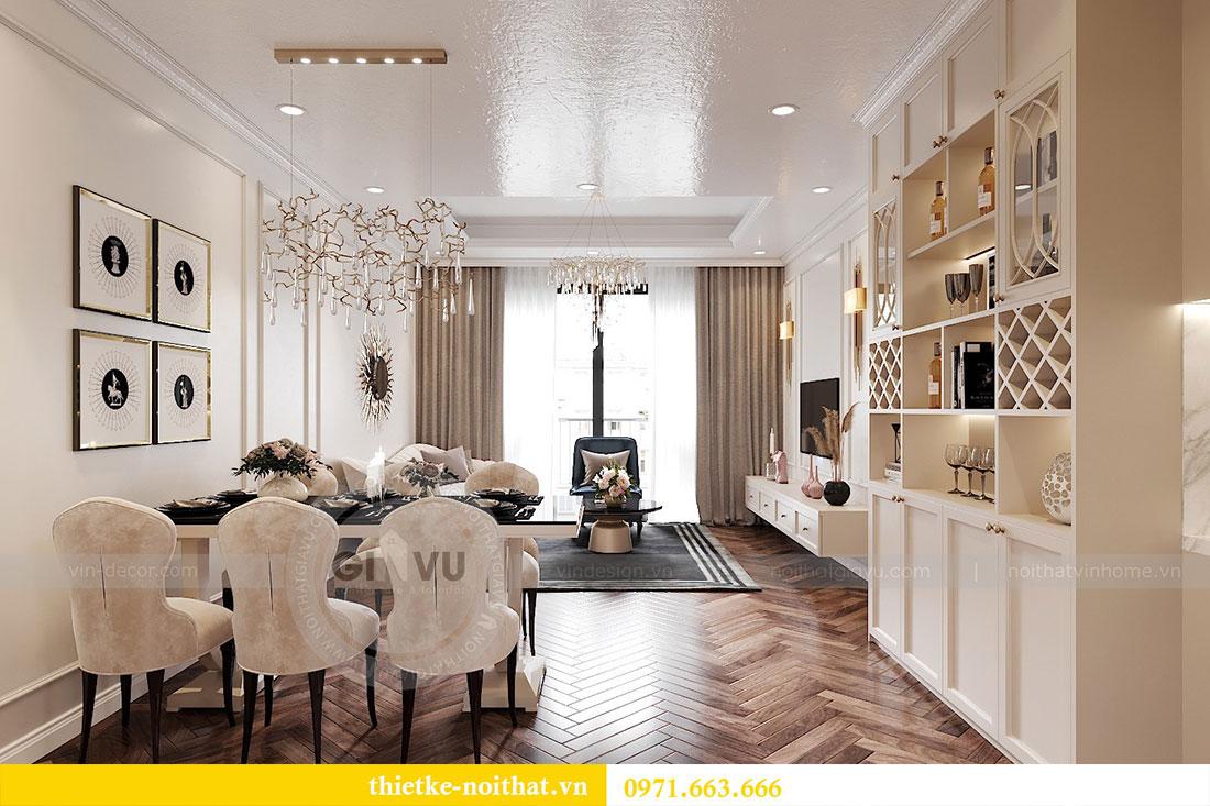 Thiết kế nội thất chung cư D capitale tòa C7 căn 12 chị Hương 3