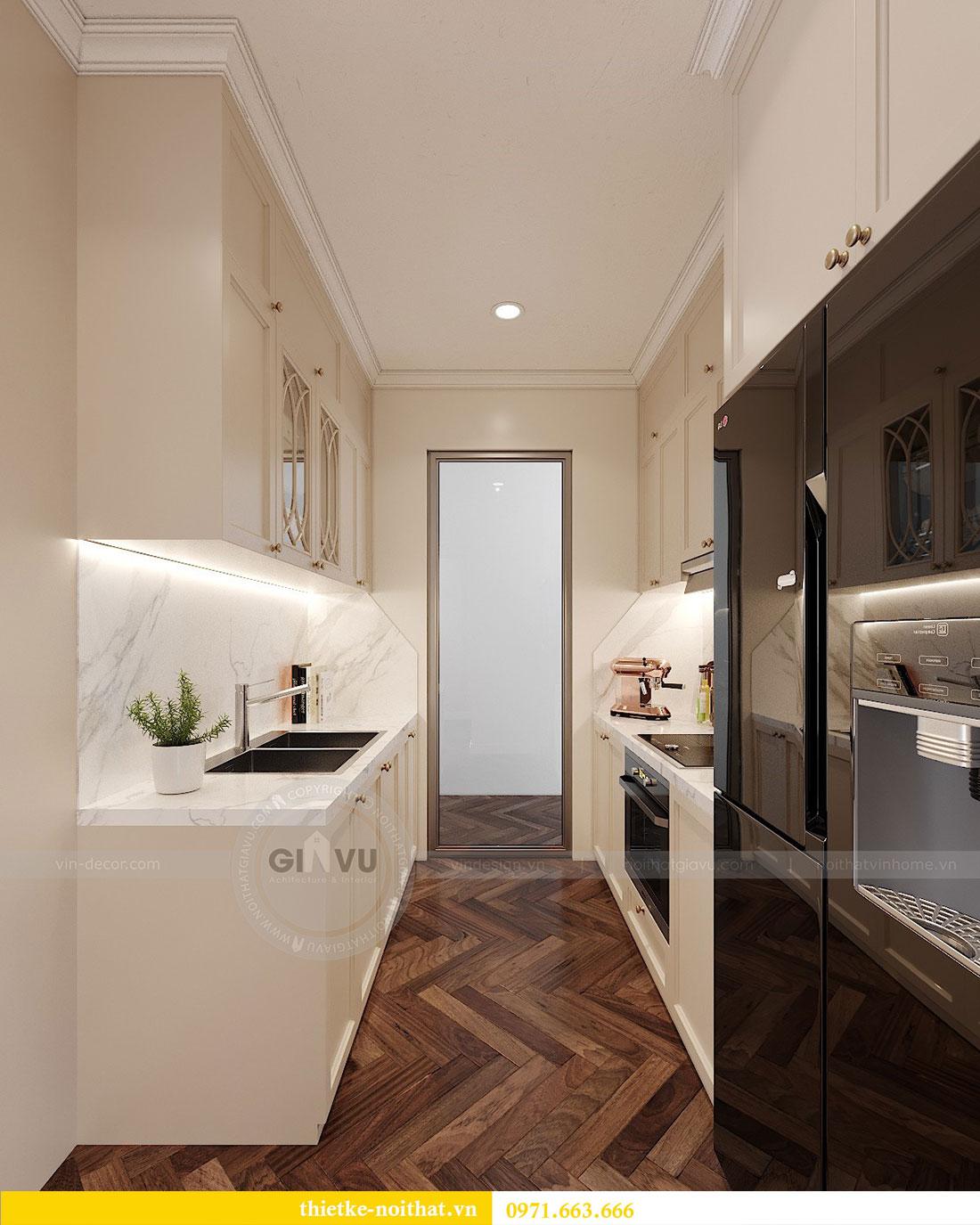 Thiết kế nội thất chung cư D capitale tòa C7 căn 12 chị Hương 2