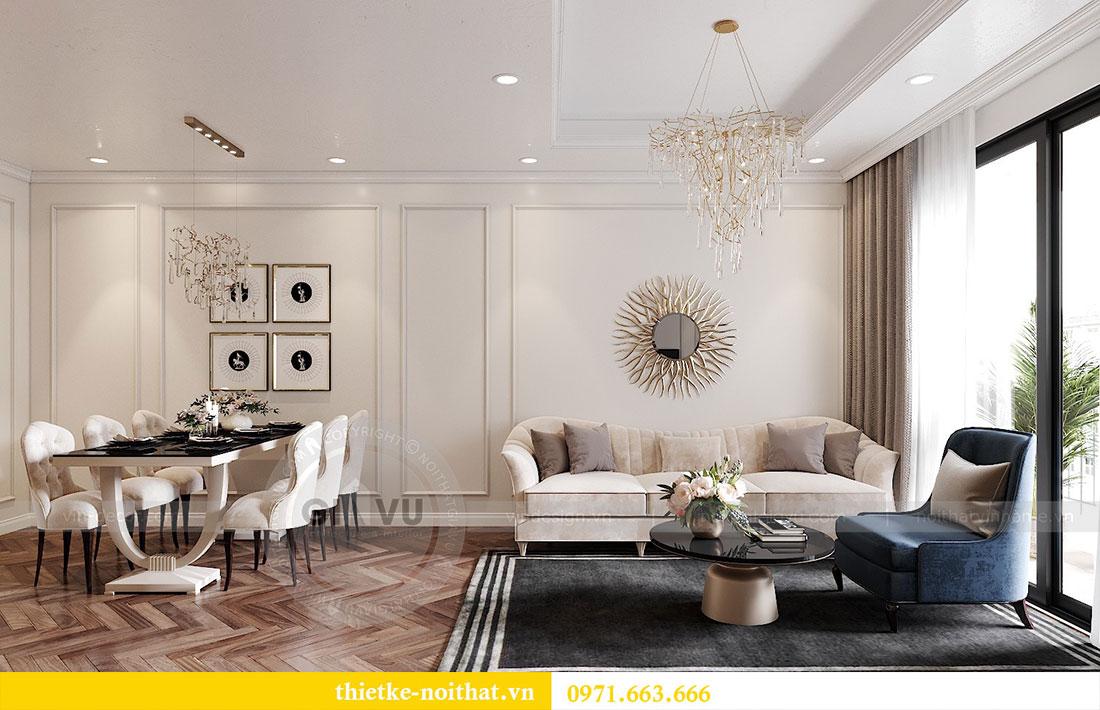 Thiết kế nội thất chung cư D capitale tòa C7 căn 12 chị Hương 5