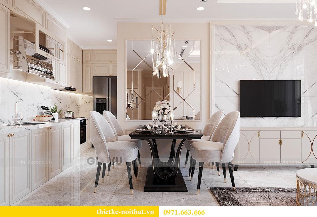 Thiết kế nội thất chung cư Dcapitale căn hộ 11 tòa C3 - anh Phương 1