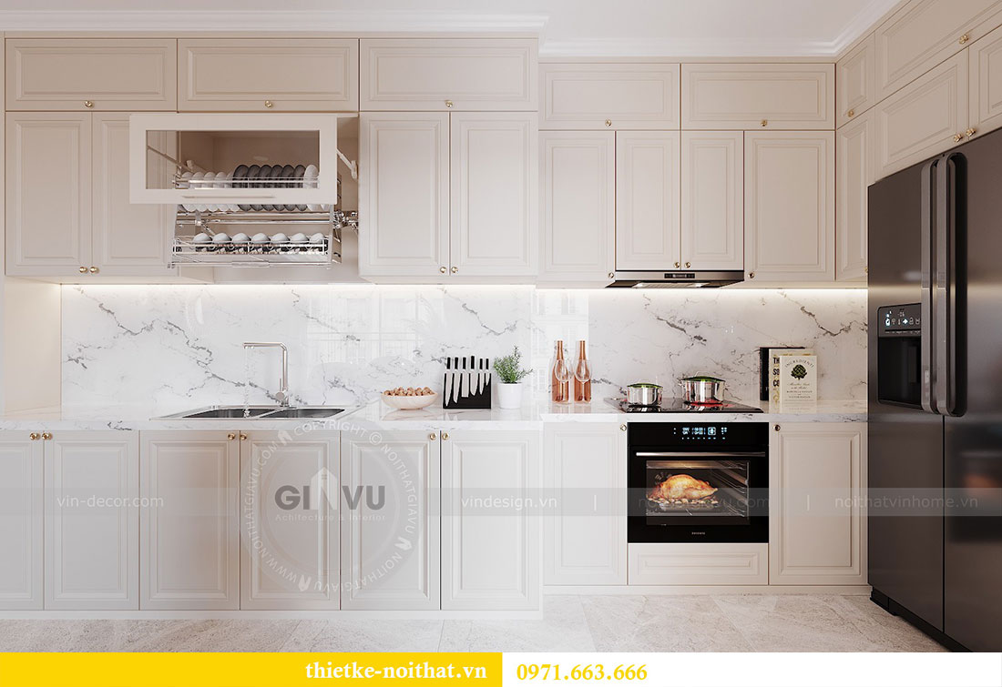 Thiết kế nội thất chung cư Dcapitale căn hộ 11 tòa C3 - anh Phương 2