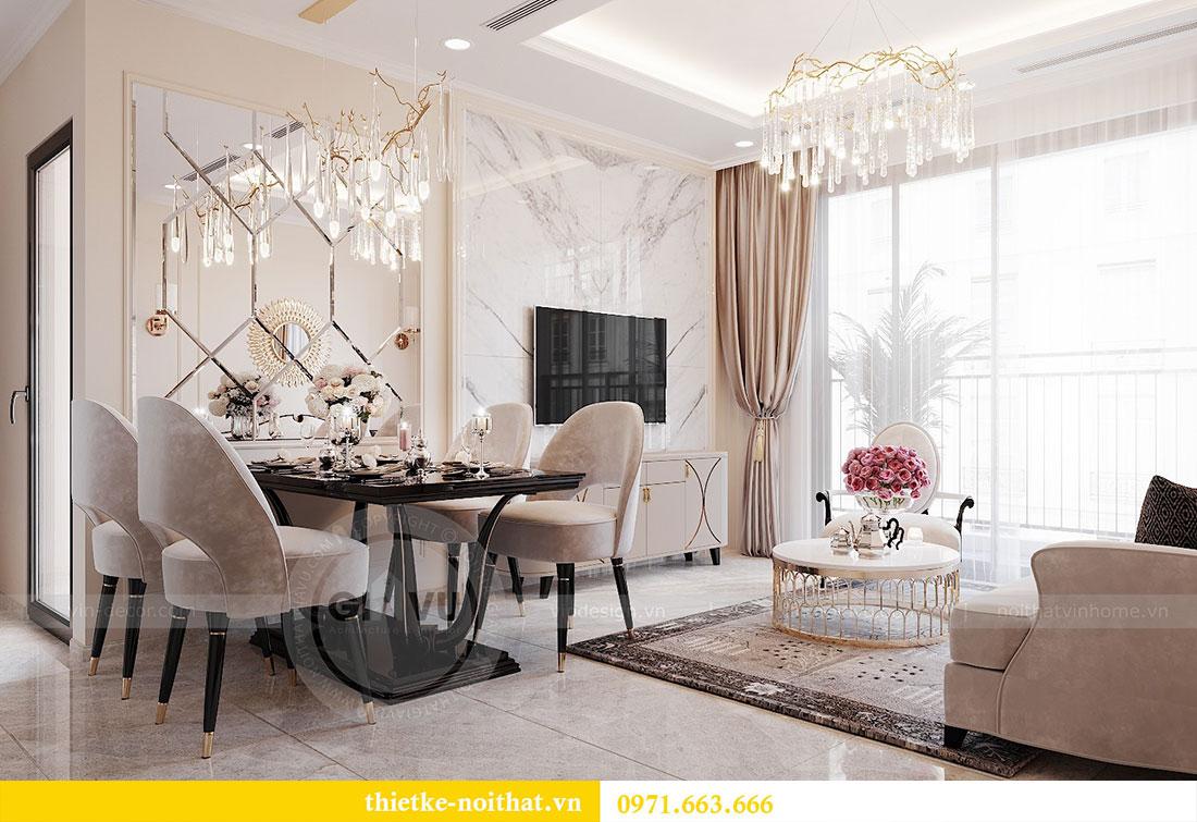 Thiết kế nội thất chung cư Dcapitale căn hộ 11 tòa C3 - anh Phương 3