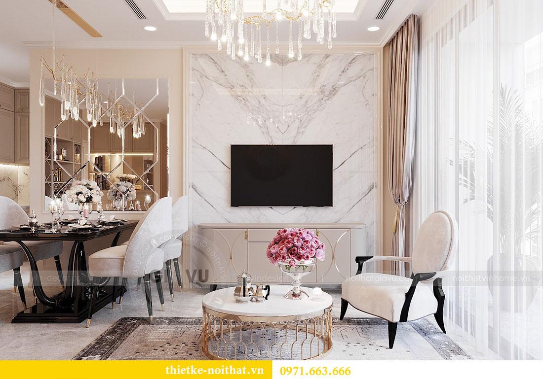 Thiết kế nội thất chung cư Dcapitale căn hộ 11 tòa C3 - anh Phương 4