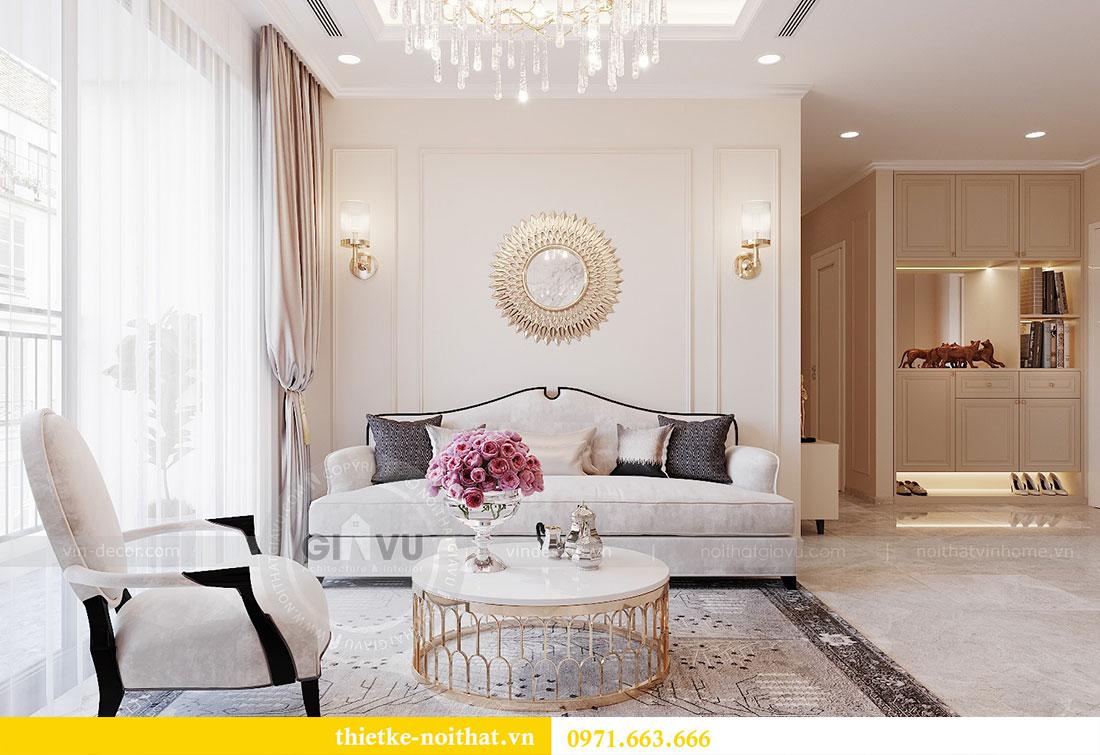 Thiết kế nội thất chung cư Dcapitale căn hộ 11 tòa C3 - anh Phương 5
