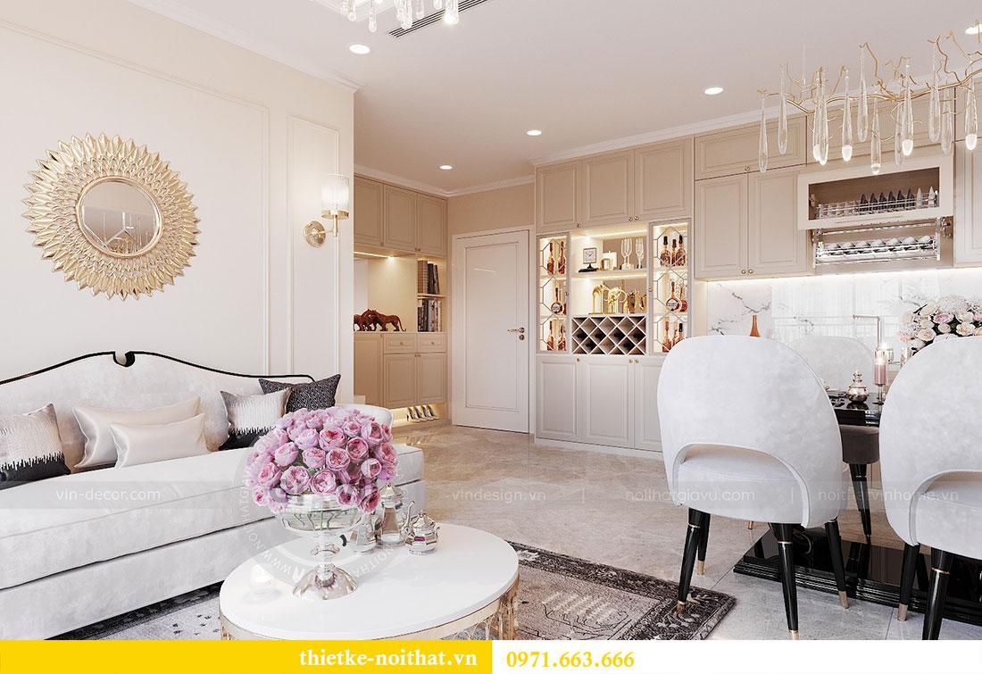 Thiết kế nội thất chung cư Dcapitale căn hộ 11 tòa C3 - anh Phương 6