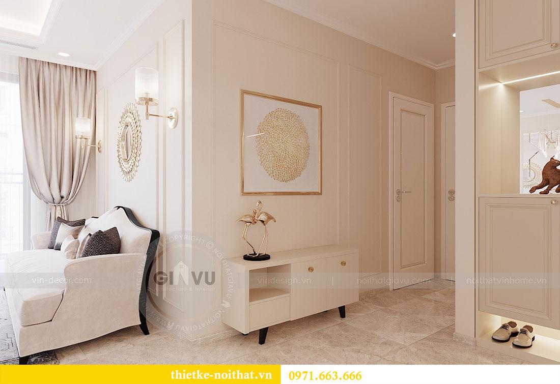 Thiết kế nội thất chung cư Dcapitale căn hộ 11 tòa C3 - anh Phương 7