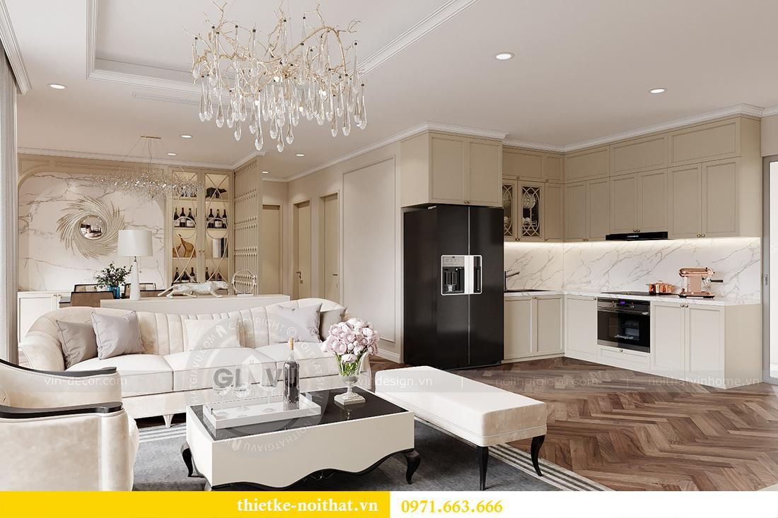 Thiết kế nội thất chung cư sang trọng tại Vinhomes Dcapitale - anh Trung 2