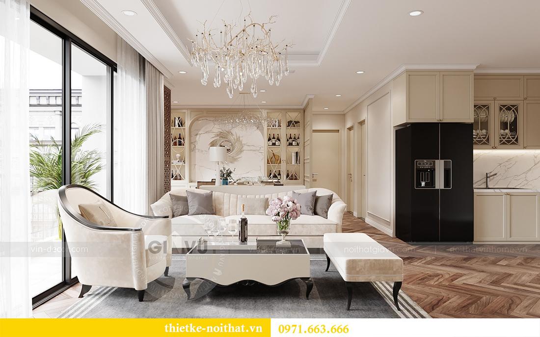 Thiết kế nội thất chung cư sang trọng tại Vinhomes Dcapitale - anh Trung 3