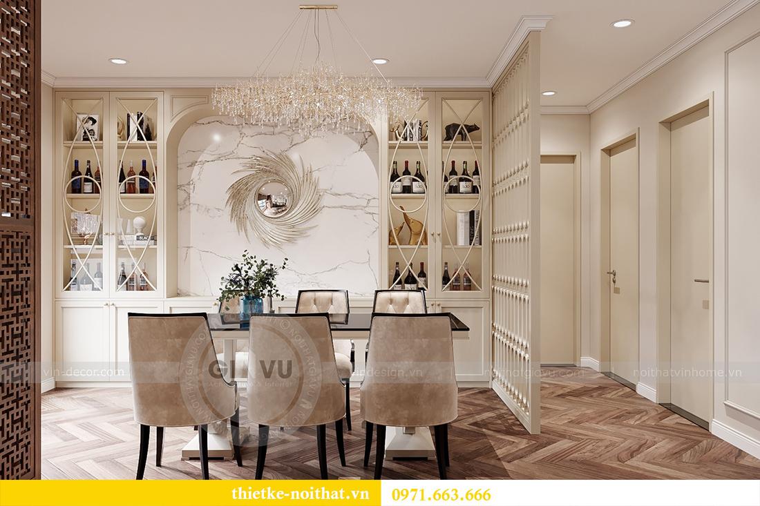 Thiết kế nội thất chung cư sang trọng tại Vinhomes Dcapitale - anh Trung 7