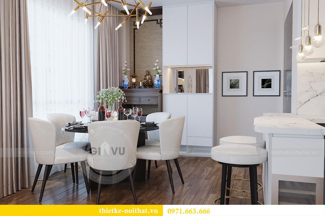 Thiết kế nội thất Vinhomes Green Bay tòa G2 căn 05 - Mrs.Hiên 1