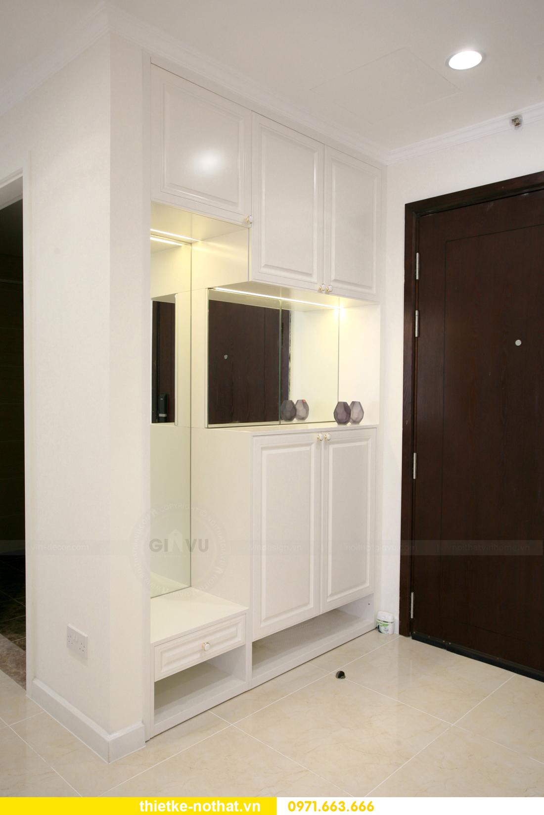 thi công nội thất căn hộ 2 phòng ngủ tại chung cư DCapitale 01