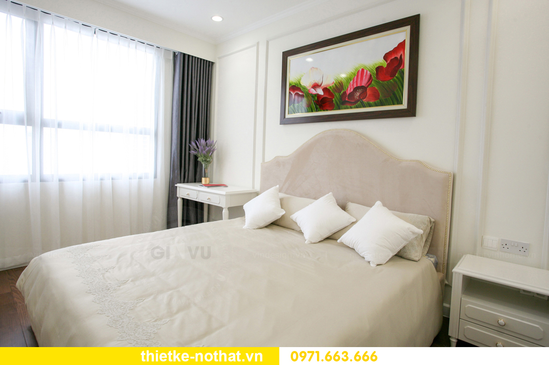 thi công nội thất căn hộ 2 phòng ngủ tại chung cư DCapitale 13