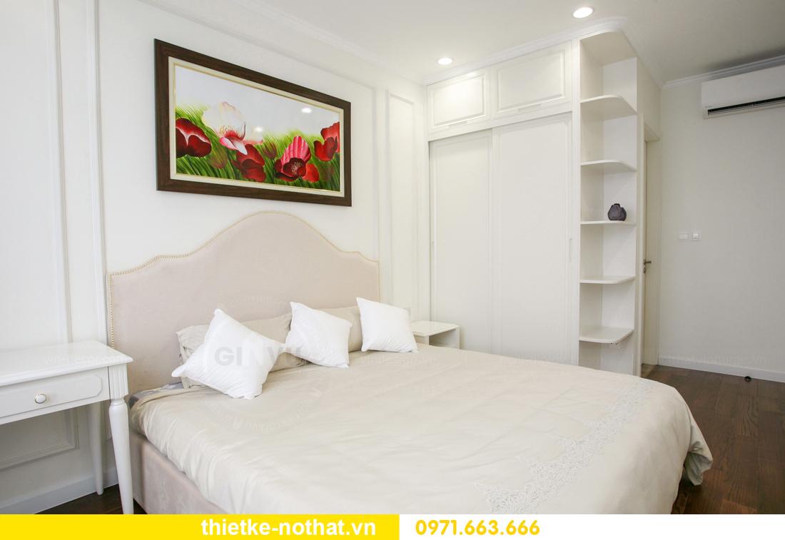 thi công nội thất căn hộ 2 phòng ngủ tại chung cư DCapitale 14