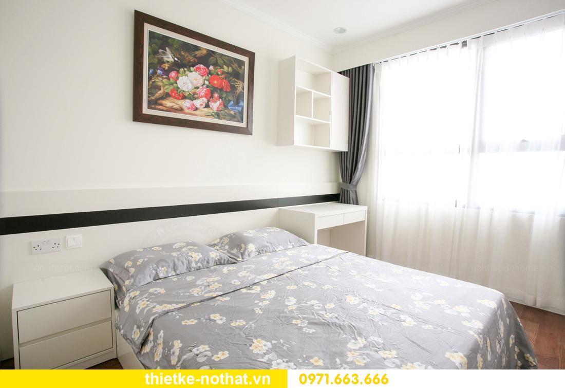 thi công nội thất căn hộ 2 phòng ngủ tại chung cư DCapitale 16