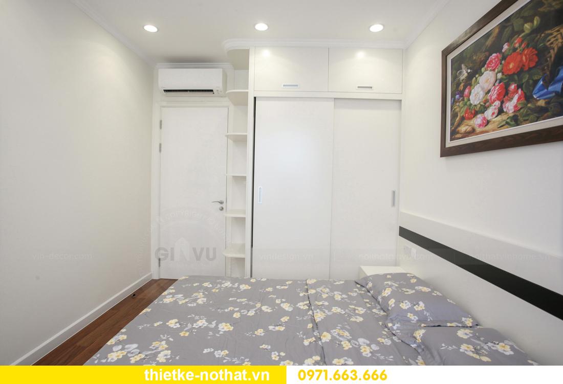 thi công nội thất căn hộ 2 phòng ngủ tại chung cư DCapitale 17