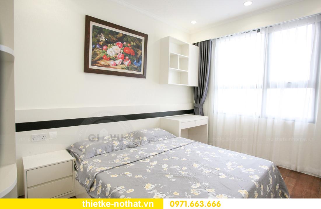 thi công nội thất căn hộ 2 phòng ngủ tại chung cư DCapitale 18