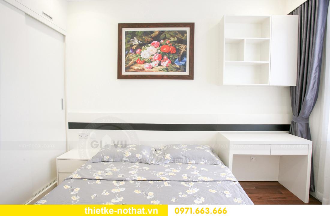 thi công nội thất căn hộ 2 phòng ngủ tại chung cư DCapitale 19