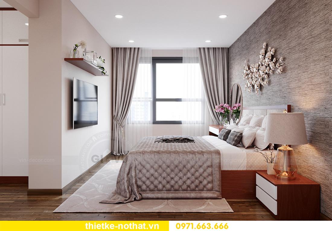 thiết kế nội thất chung cư West Point 3 phòng ngủ đẹp hiện đại 06
