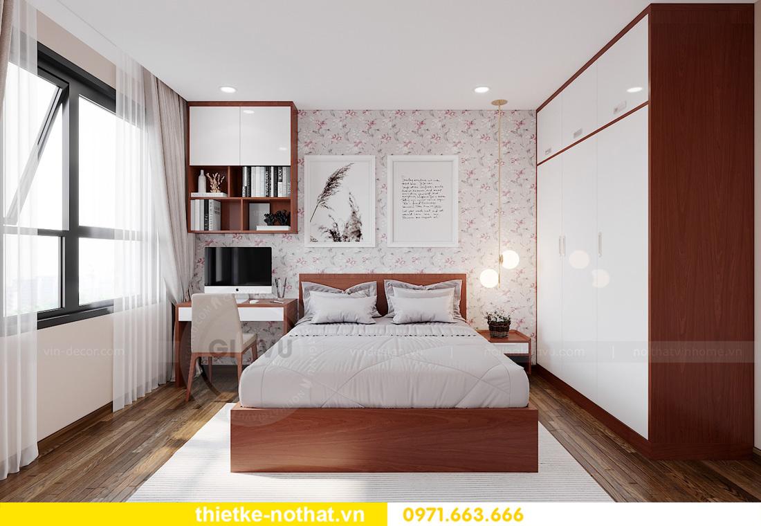 thiết kế nội thất chung cư West Point 3 phòng ngủ đẹp hiện đại 08