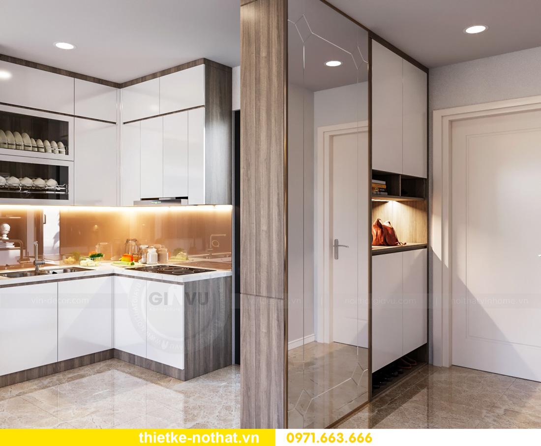 thiết kế nội thất Vinhomes Smart City hiện đại ấn tượng 01