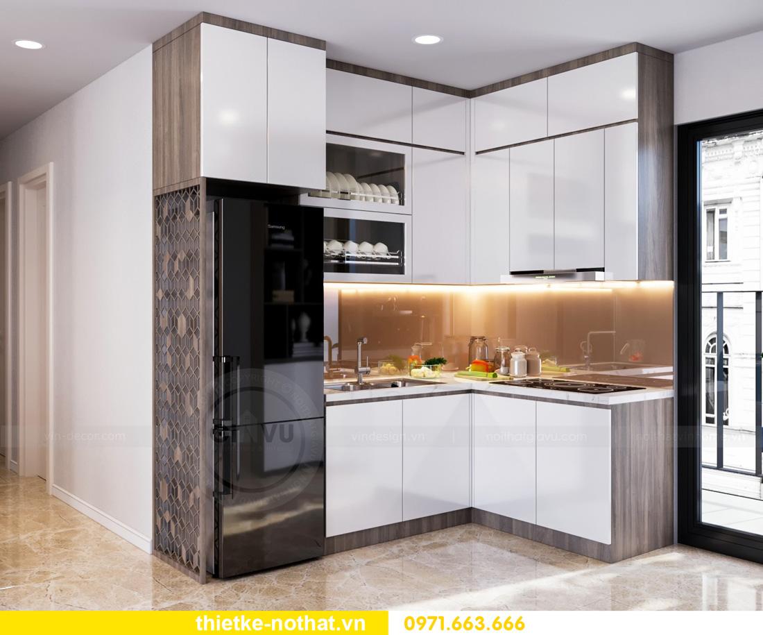 thiết kế nội thất Vinhomes Smart City hiện đại ấn tượng 02