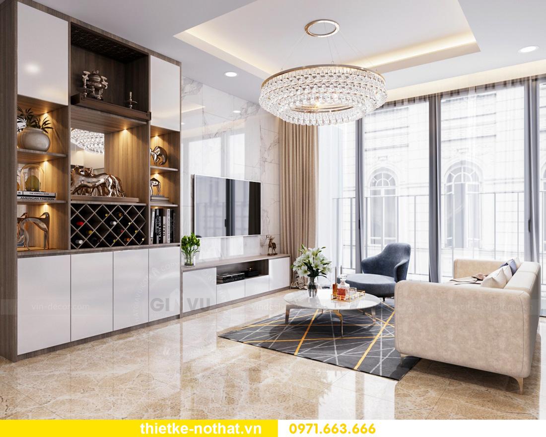 thiết kế nội thất Vinhomes Smart City hiện đại ấn tượng 03