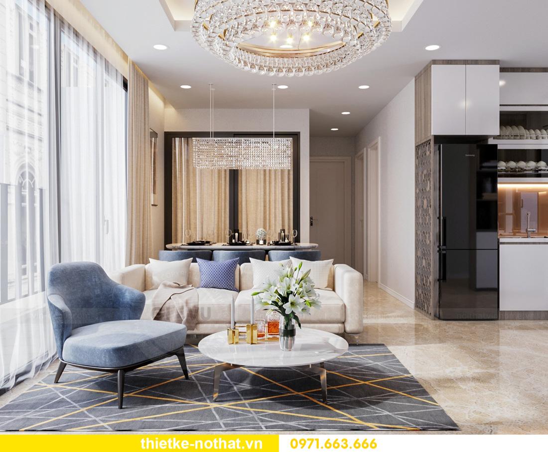 thiết kế nội thất Vinhomes Smart City hiện đại ấn tượng 04