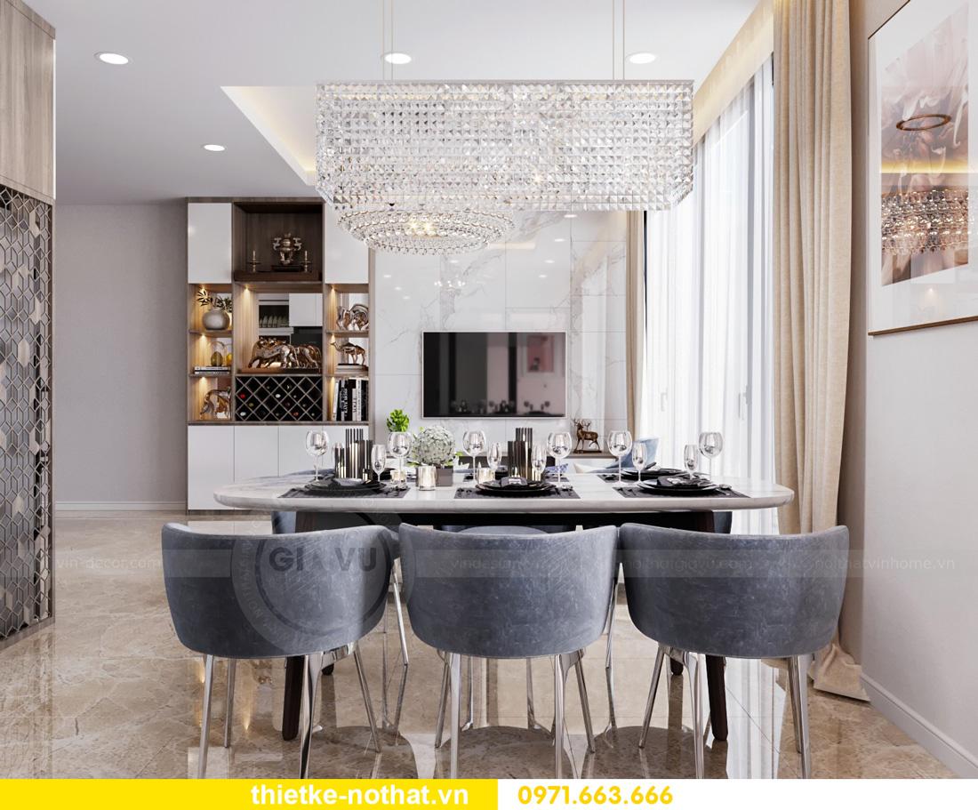 thiết kế nội thất Vinhomes Smart City hiện đại ấn tượng 06