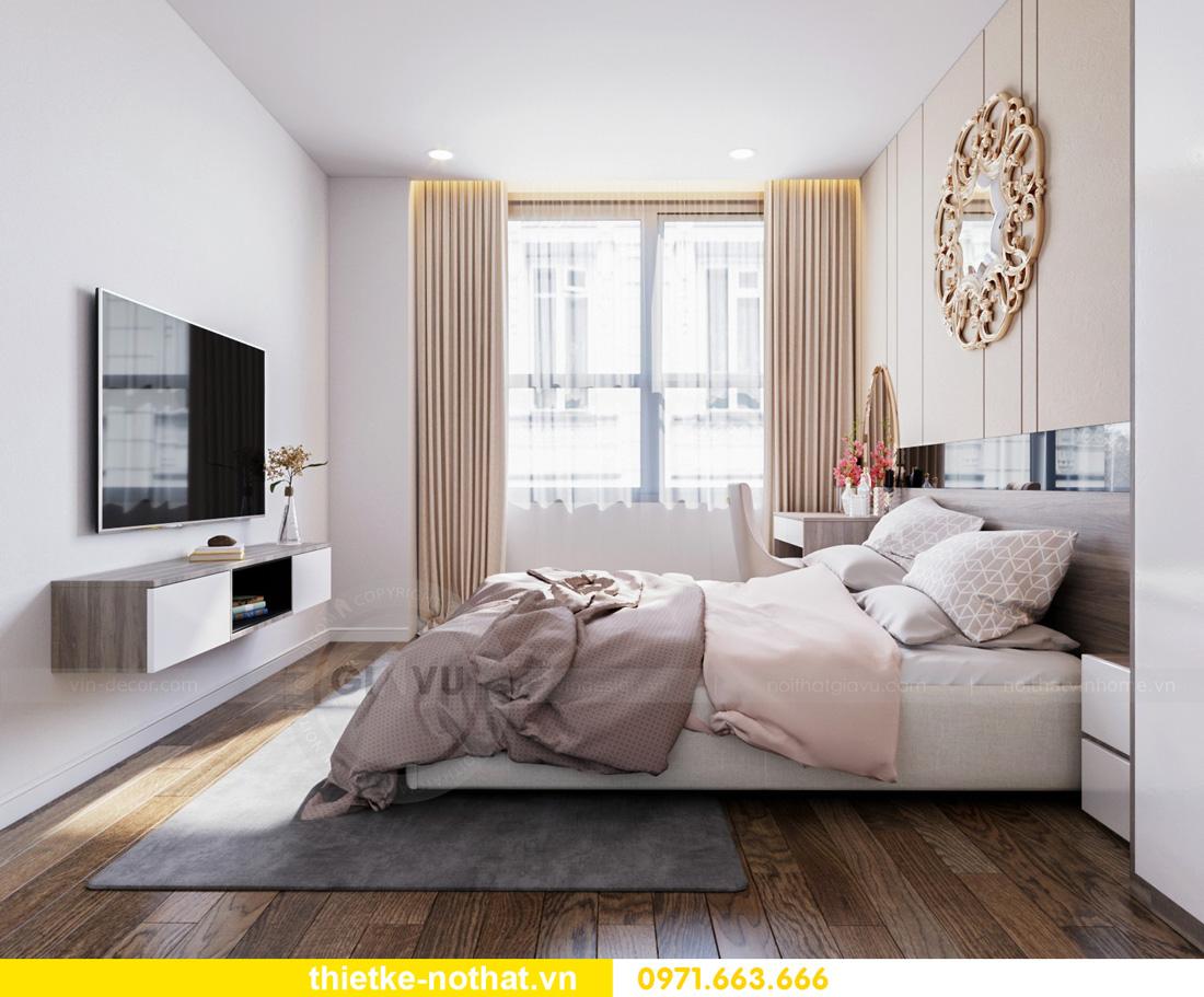 thiết kế nội thất Vinhomes Smart City hiện đại ấn tượng 08