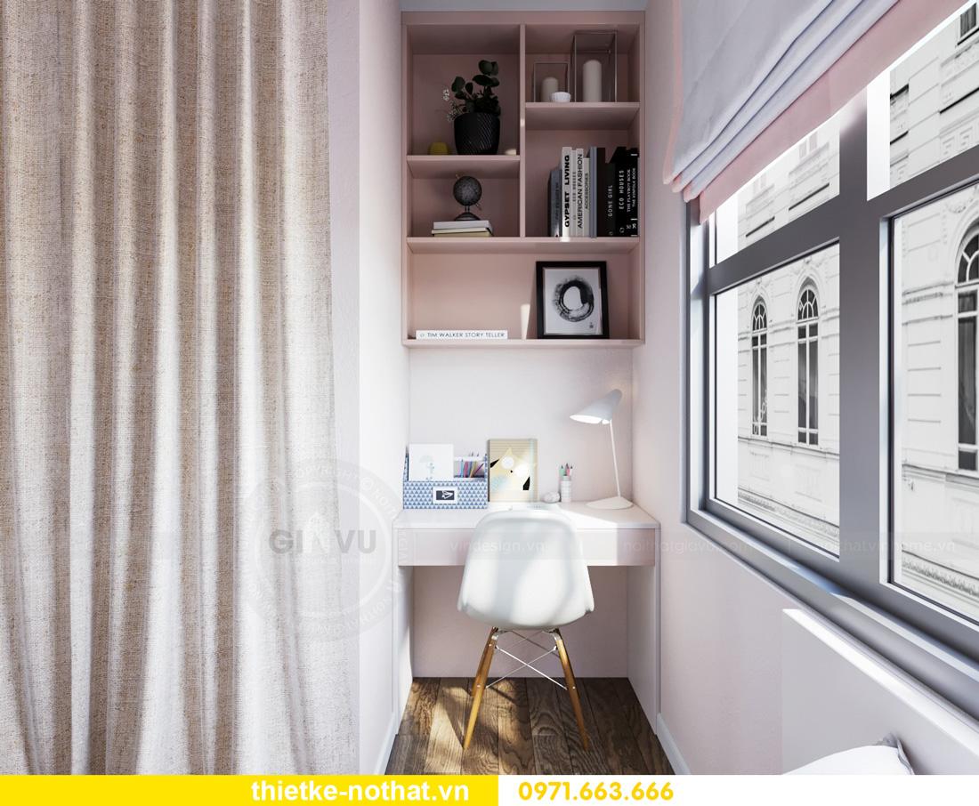 thiết kế nội thất Vinhomes Smart City hiện đại ấn tượng 11