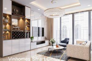 Thiết Kế Nội Thất Vinhomes Smart City Hiện đại ấn Tượng
