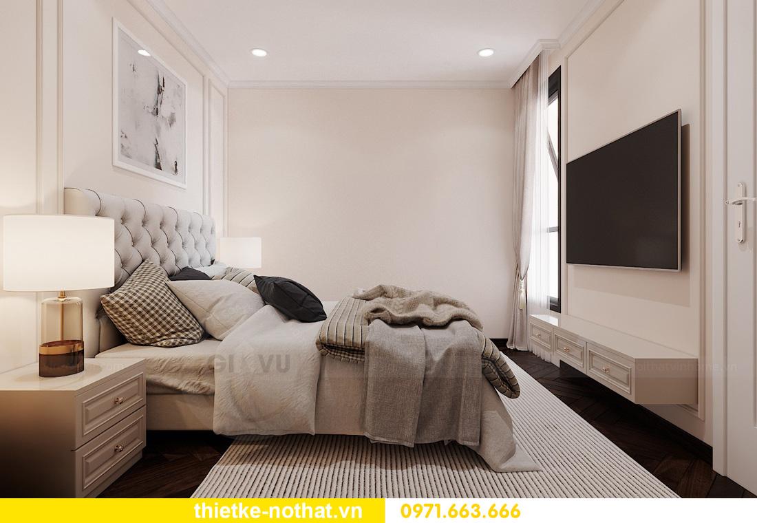 Thiết kế thi công nội thất chung cư West Point tòa W1 căn 05 13