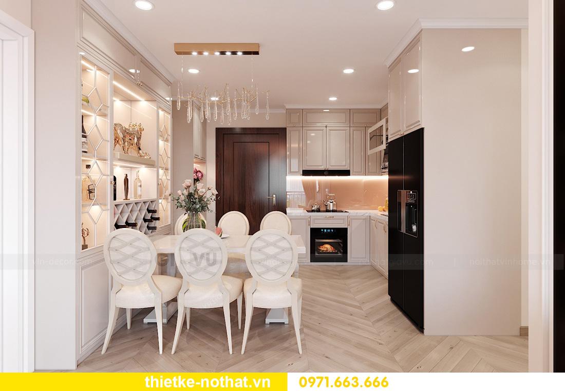 Thiết kế thi công nội thất chung cư West Point tòa W1 căn 05 2